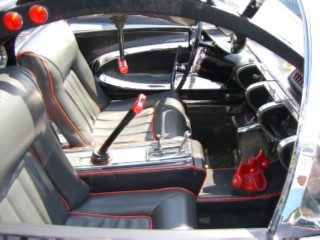 Batmobile cockpit