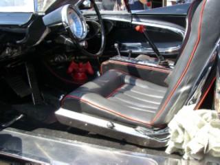 Batmobile driver seat