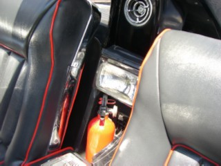 Batmobile extinguisher