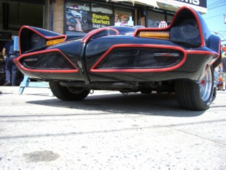 Batmobile face