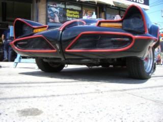Batmobile face