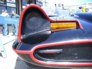 Batmobile front grill
