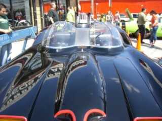 Batmobile hood