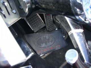Batmobile pedals