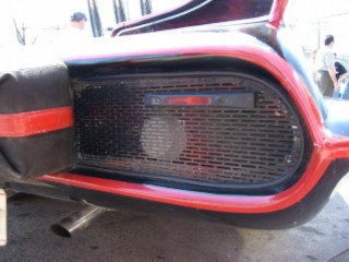 Batmobile rear grill