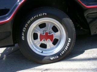 Batmobile tire