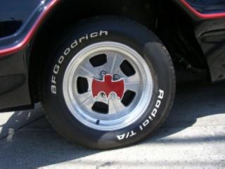 Batmobile tire