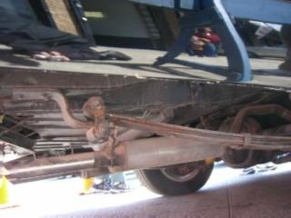 Batmobile rear underneath