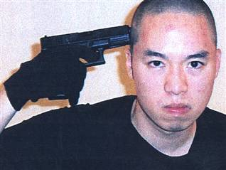Cho gun to head
