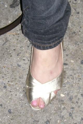 GDC Caitlin gold slipper