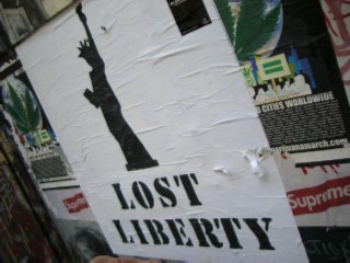 Poster Lost Liberty