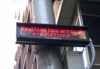 Realtime bus sign 01