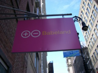 Sign Babeland