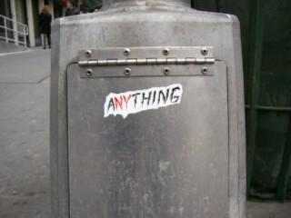 Sticker aNYthing