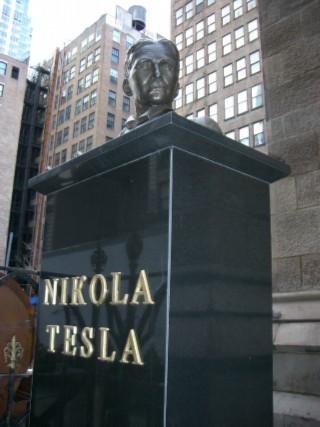 Nikola Tesla bust 01