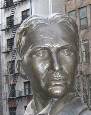 Nikola Tesla bust 03