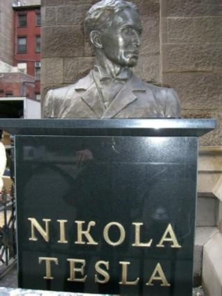 Nikola Tesla bust 04